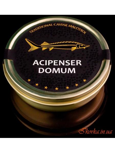 Икра осетровая черная 250г Асипенсер Домум Италия ж/б